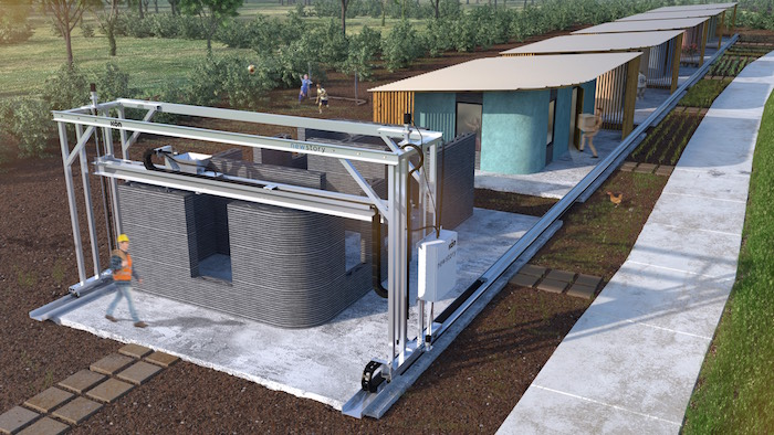 United States  start-up debuts innovative 3D printed home